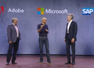 Adobe, SAP, Microsoft
